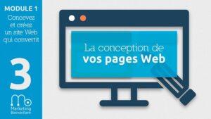 Comment réaliser la conception des pages web de votre site & blog ?