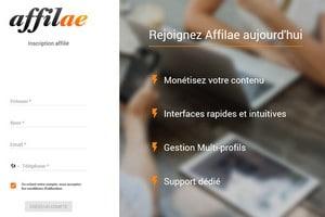 plateforme affiliation affilae
