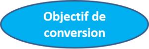 objectif de conversion